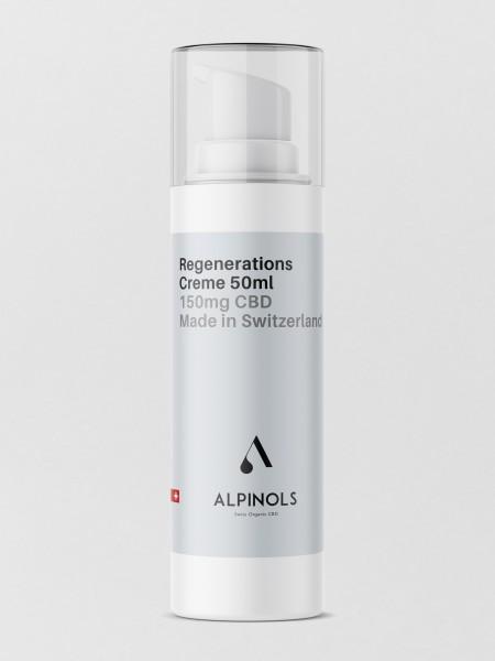 ALPINOLS CBD Regenerationscrème - 50ml - 150mg CBD