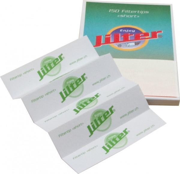 Jilter Filtertips Grün SHORT - 10er Pack