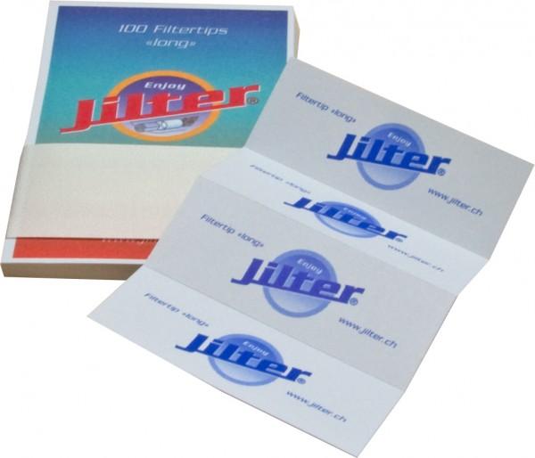 Jilter Filtertips Blau LONG - 10er Pack