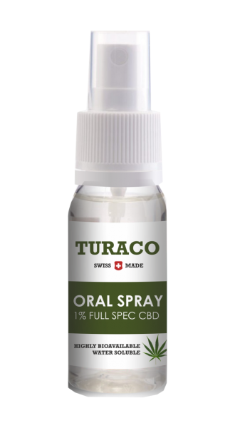 Turaco CBD Mundspray Natural 10ml