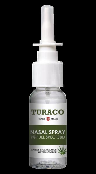 Turaco CBD Nasal Spray Natural 10ml