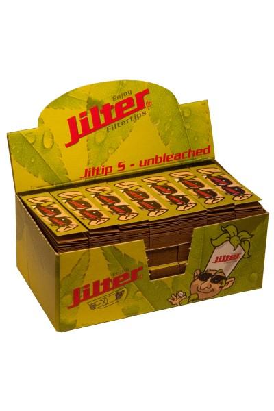 Jilter Jiltip S - unbleached, Display à 28 x 45 Stück