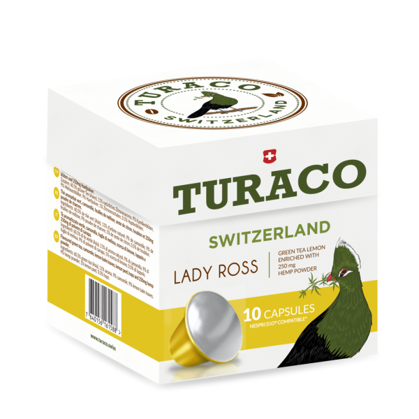 Turaco Lady Ross CBD Teekapseln - 10 Stück