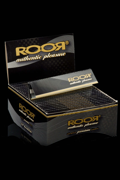RooR Premium Papers Slim Size Box à 50 Booklets