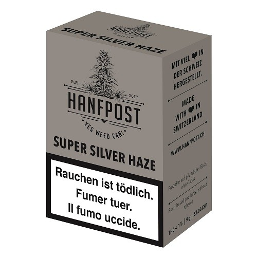 Hanfpost - Super Silver Haze - indoor CBD - 9gr