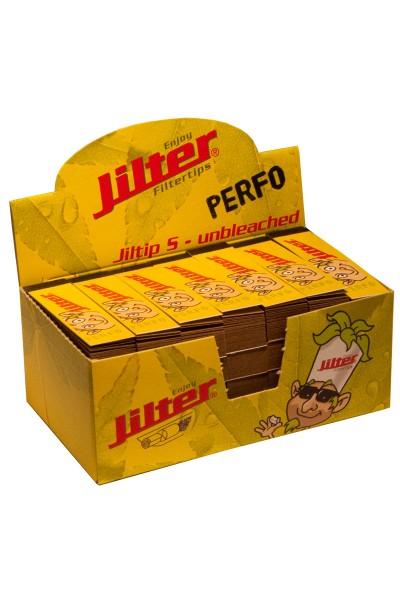 Jilter Jiltip S PERFO - unbleached, Display à 28 x 45 Stück